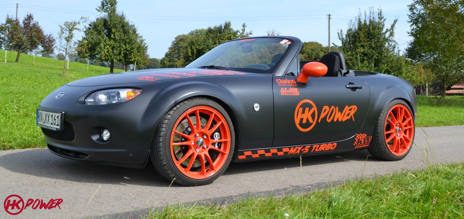 Hk Power Mazda Mx 5 Nc Turbo
