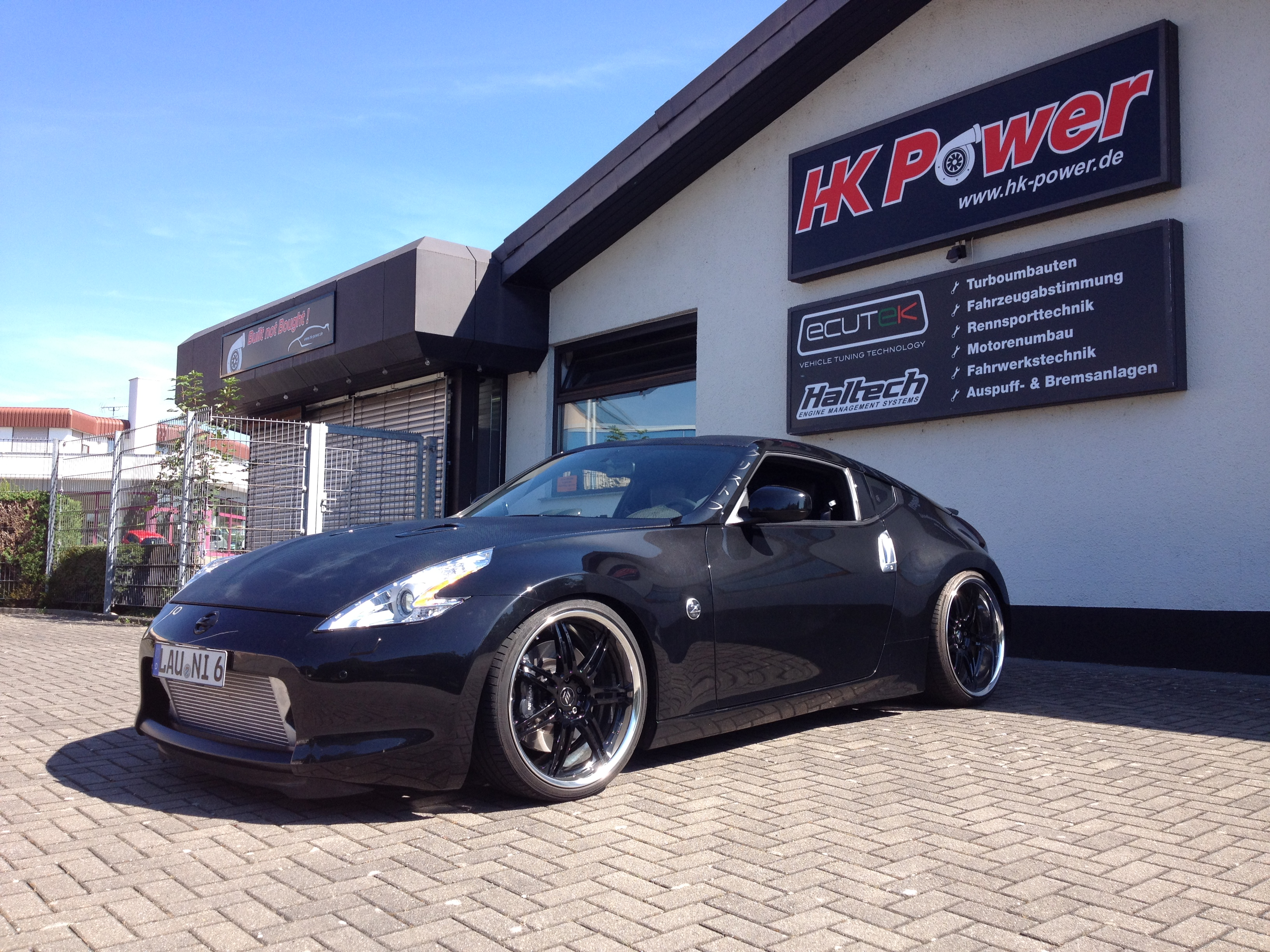 Hk Power Nissan 370z Bi Turbo Kit Gtr Edition